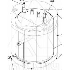 Бойлер ГВП 104 л.для газового котла Vaillant Combi atmoVIT - 064093
