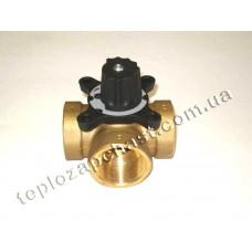 Трёхходовой клапан к твердотопливным котлам (для подмеса теплоносителя)