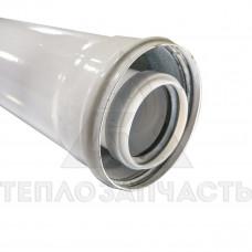 Коаксиальный удлинитель конденсационного котла. 1 м. Ø 60/100 мм.