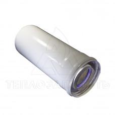 Коаксіальний подовжувач Ø 60/100 мм. AL+Fe. Довжина 0,25 м. - CE.00.20 H