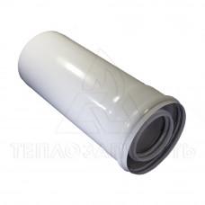 Коаксиальный удлинитель конденсационного котла 0,25 м.  Ø 60/100 мм. PP-R+Fe