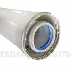 Коаксиальный удлинитель конденсационного котла 1,5 м. Ø 60/100 мм. PP-R+Fe