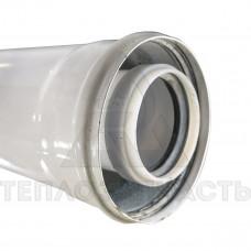 Коаксиальный удлинитель конденсационного котла 2 м. Ø 60/100 мм. PP-R+Fe - CE.00.24 C