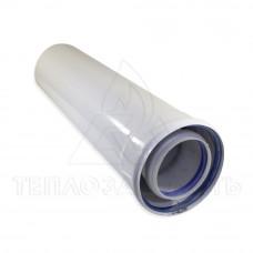 Коаксиальный удлинитель конденсационного котла 0,5 м. Ø 80/125 мм.