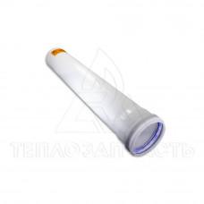 Удлинитель раздельного конденсационного дымохода Ø 80 мм. L=0,5 м.
