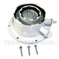 Перехідник конденсаційного димоходу Bosch Ø 60/100 - 80/125 мм.