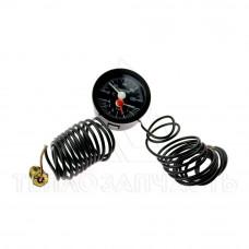 Термоманометр универсальный (круглый) IMIT - 030646