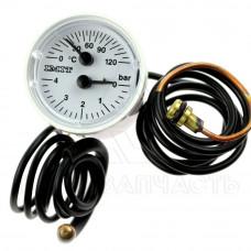 Термоманометр Sime Format.Zip 5, Metropolis (клипса) - 6217005, 6217006