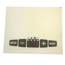 Плівка, наклейка панелі управління Protherm Panther V15, V17 - 0020044678
