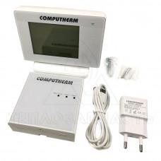 Безпровідний цифровий тижневий (Wi-Fi) кімнатний термостат COMPUTHERM E400RF