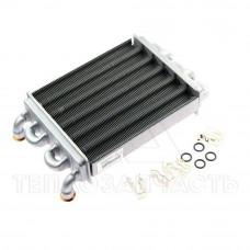Теплообменник для котла Ariston Egis 24 кВт (короткий, 220 мм.) - 65106300