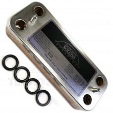 Теплообмінник пластинчастий 10 пл.Ariston, Chaffoteaux - 995945, 61302409
