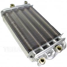 Теплообмінник для котла (230 мм.) TeploWest Optima АГД 24 бітермічний - 2.55.35.076.04