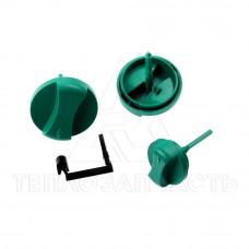 Комплект ручек управления (зелёные, 3 шт.) Vaillant MAX - 114286