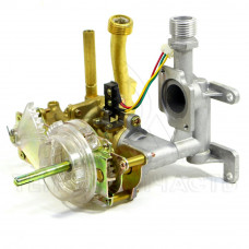 Газоводяний блок (нового зразку, підключення різьба) Selena E1 - 33.4165